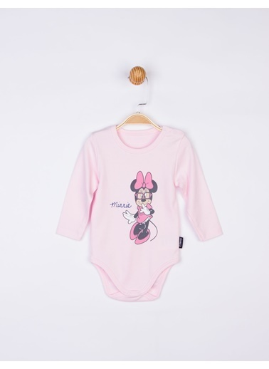 Minnie Mouse Bebek Body 17203 Pembe